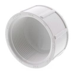 "1-1/2"" PVC Sch. 40<br>Female Cap Product Image"