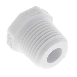 "1/2"" PVC Schedule 40 Male Threaded Plug"