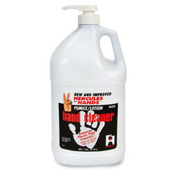 1 gal. Hercules For Hands Pumice Lotion Hand Cleaner (pump dispenser)