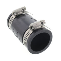 """2"""" Rubber Coupling<br>(Cast Iron or PVC to Cast Iron or PVC) Product Image"""