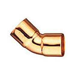 "3/8"" OD Copper 45° Elbow For Air Conditioning"