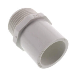 "1-1/4"" PVC Sch. 40<br>Spigot x Male Adapter Product Image"