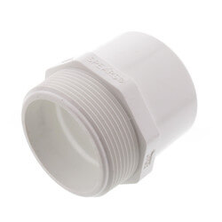 "2"" PVC Sch. 40<br>Spigot x Male Adapter Product Image"