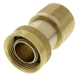 "1"" Male NPT x MANABLOC Supply Adapter, Zero Lead"