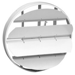 "19 Series 12"" Steel OBD Duct Mount Damper for #20 Ceiling Diffuser Product Image"