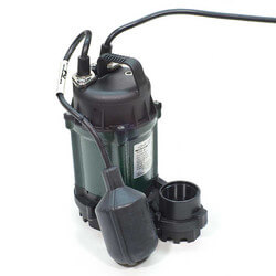 Model 49 Water Ridd'r III Automatic Sump Pump - 1/4 HP, 20 Ft Cord