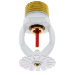 White Polyester Res. Pendant Sprinkler Head - 155°F (4.9 K-Factor) Product Image