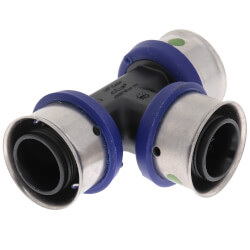 "3/4"" PEX Press<br>Polymer Tee Product Image"