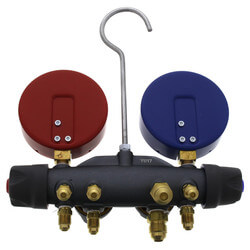 Titan 4 Valve Test & Charging Manifold w/ Ball Valve Product Image