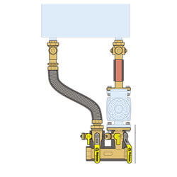 "1-1/2"" Sweat Complete Near Boiler Manifold & Piping Kit Product Image"