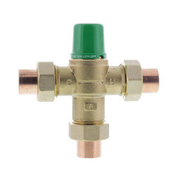 "3/4"" Sweat 5003<br>Mixing Valve (Low Lead) Product Image"
