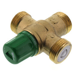 """3/4"""" Sweat Union 5003 Heating Only Mixing Valve Product Image"""