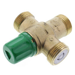 """1"""" Sweat Union 5004 Heating Only Mixing Valve Product Image"""