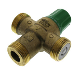 """1"""" PEX Union 5004 Heating Only Mixing Valve Product Image"""