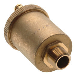 "1/2"" High Capacity Auto Air Vent with Check Valve Product Image"