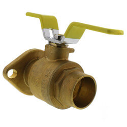 "1-1/2"" Sweat Isolator Flange - High Velocity (Pair)"