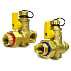 "3/4"" Sweat Tankless Water Heater Isolation Valves"