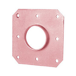 """3/4"""" Copper CTS Tube Square O Strap Product Image"""