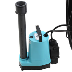 WRS-5 1/6 HP, 115V Submersible Auto Utility Sump Pump, 5 Gal. Tank Product Image