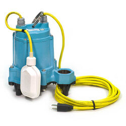 HT-6E-CIA-FS 1/3 HP, 50 GPM - Automatic Submersible High Temperature Effluent Pump, 15ft power cord