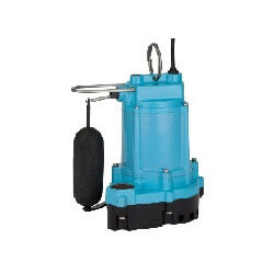 6EC-CIA-SFS 1/3 HP, 50 GPM - Integral Snap Action Float Pump, 10ft cord Product Image