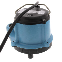 8-CIA, 4/10 HP, 45 GPM - Automatic Submersible Sump Pump, 10ft power cord