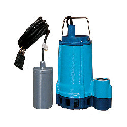 8E-CIA-RFS 1/3 HP, 52 GPM Automatic Submersible Sump Effluent Pump w/ Remote Float Switch, 15ft power cord