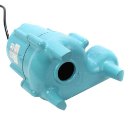 9SN-CIM 4/10 HP - Manual Submersible Effluent Pump <br> 20 ft Power Cord Product Image