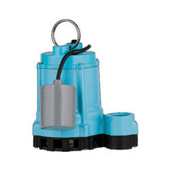 9EN-CIA-RF 4/10 HP, 80 GPM Submersible Sump Effluent Pump, 20 ft power cord