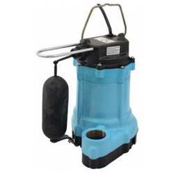 9EN-CIA-SFS 4/10 HP, 80 GPM Auto. Submersible Effluent Pump, 20' Cord Product Image