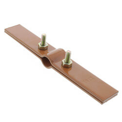 """1/2"""" Copper Epoxy Coated Riser Clamp Product Image"""