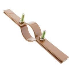 """2"""" Copper Epoxy Coated Riser Clamp Product Image"""