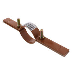 """2-1/2"""" Copper Epoxy Coated Riser Clamp Product Image"""