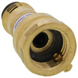 "Model-50H, 3/4"" Female Hose Thread NIDEL Vacuum Breaker (Brass) Product Image"