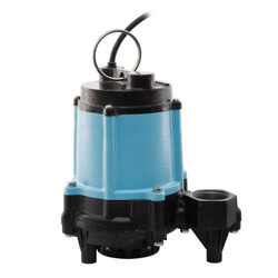 10EC-CIM 1/2 HP, 67 GPM Manual Submersible Sump Pump, 10' Cord Product Image