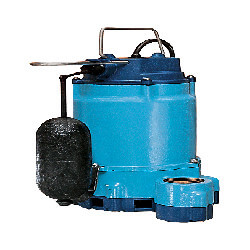 10E-CIA-SFS 1/2 HP, 80 GPM - Submersible Sump Effluent Pump w/ Snap Action Float Switch, 25ft power cord