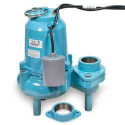 ES60W1-20 6/10 HP, 127 GPM, 115V - Submersible Auto Sewage Pump Product Image