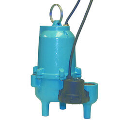 ES50D1-10 1/2 HP, 85 GPM 115V - Submersible Auto Sewage Pump Product Image