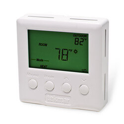 Two Stage Heat / Heat - Cool Programmable Thermostat