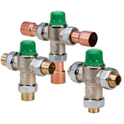 "1"" Sweat 5124 Mixing Valve (Low Lead)"