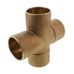 "1-1/2"" Cast Brass Cross (Lead Free) Product Image"