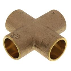 "2"" Cast Brass Cross (Lead Free) Product Image"