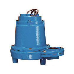 16EH-CIM 1 HP, 90 GPM, 208-240V - Manual Submersible High Head Effluent Pump, 20ft power cord