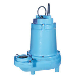 14EH-CIM 1/2 HP, 60 GPM, 208-240V - Manual Submersible High Head Effluent Pump, 20ft power cord