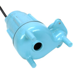 14S-CIM 1/2 HP, 115V Submersible Man. Sewage Eject. Pump Product Image