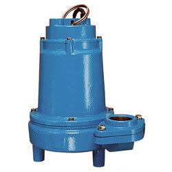 16EH-CIM 1 HP, 90 GPM 230V - Submersible Man. Effluent Pump, 1 Ph. Product Image