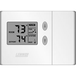 Non-programmable 2H/1C Heat Pump Thermostat Product Image