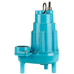 20S-CIM 2HP 460V, 205 GPM - Submersible Man. Sewage Eject. Pump, 1 Ph Product Image