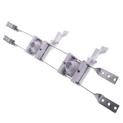 """L-Bent StrongArm Bracket w/ 2 Plastic Bend Supports for 16"""" Stud Bays Product Image"""