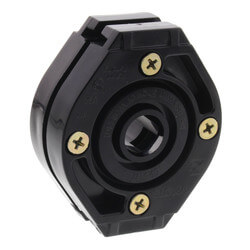 """Shower WallNut Lock Block for Supporting 1/2"""" Riser Product Image"""